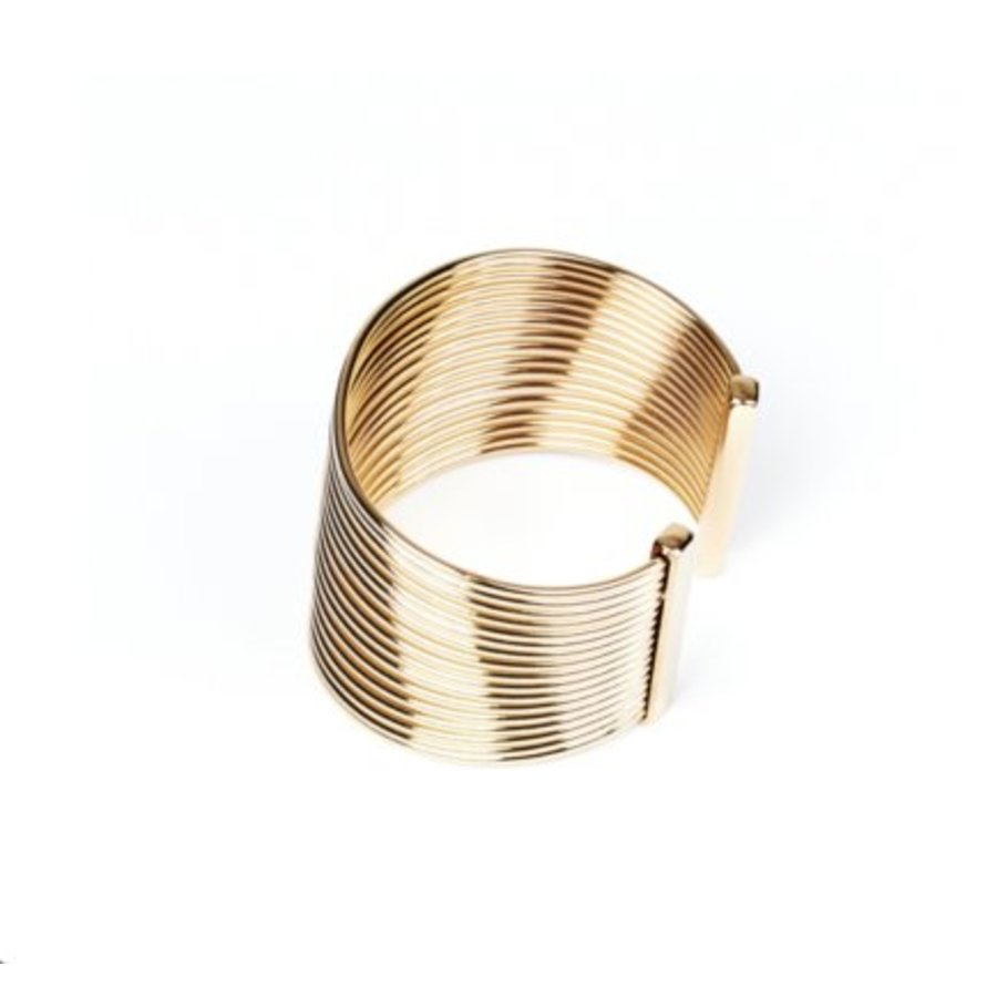 New spiral armband - Champagne goud