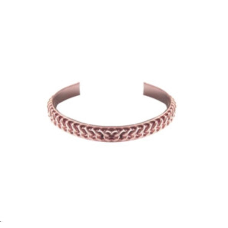 Love flat chain cuff - Rosé