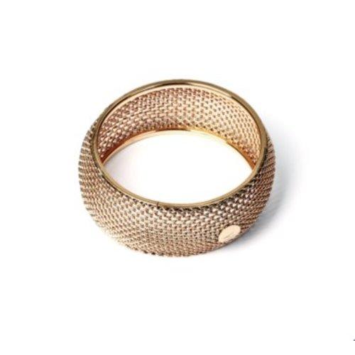 Big malien bracelet - Light gold