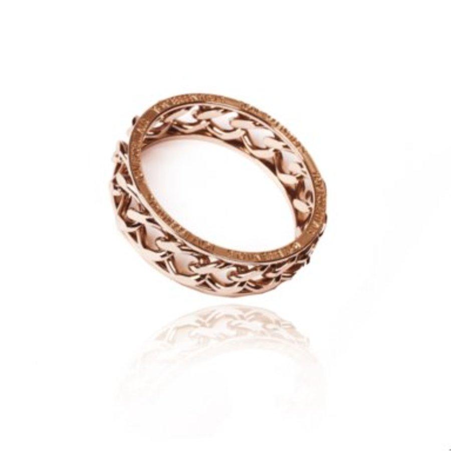 Big chain bangle - Rosé