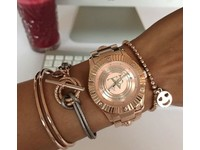 Metalic bracelet - Silver/ Bronze methallic