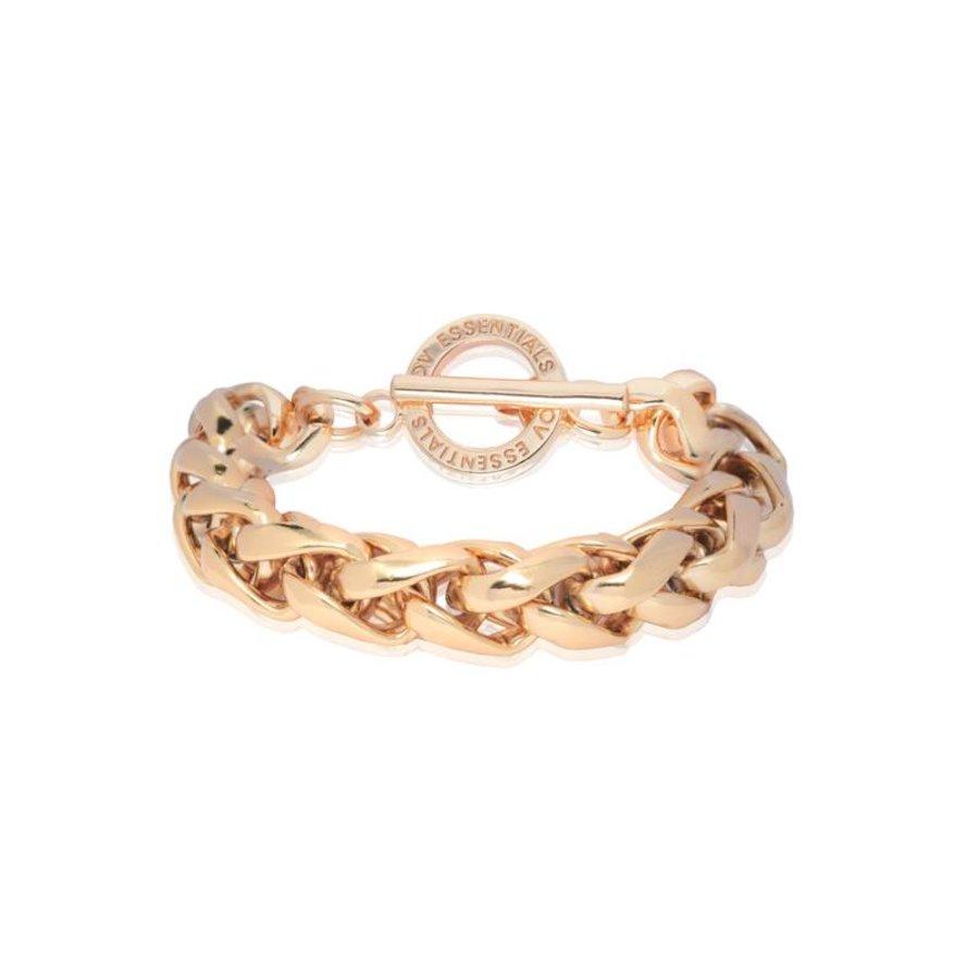 Big spiga bracelet - rose
