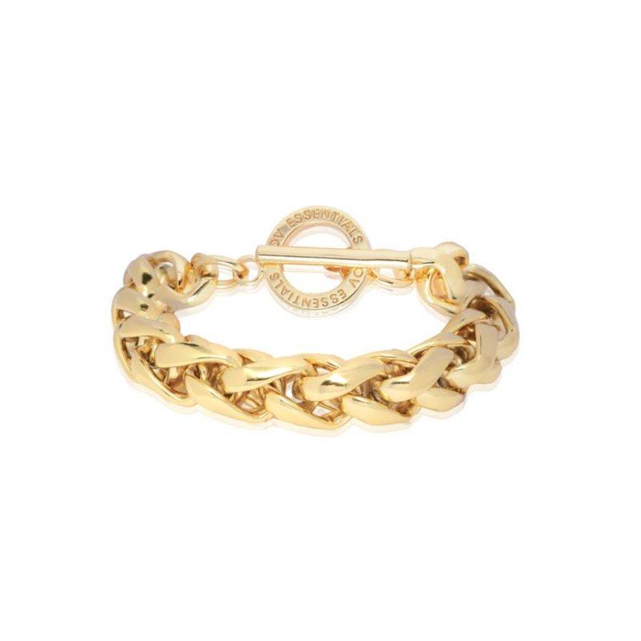 Big Spiga - Armband - Gold