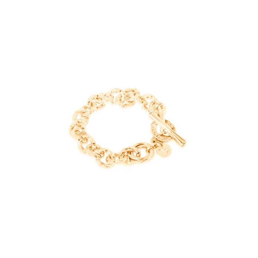 Small twisted - Armband - Goud