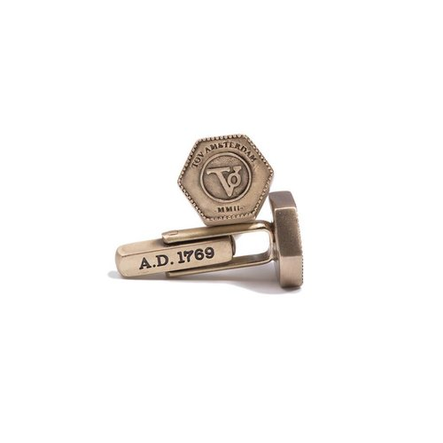 THE BOLD CUFFLINKS - BRASS