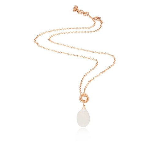 Pure stone ketting - Rose/ Wit Opaal