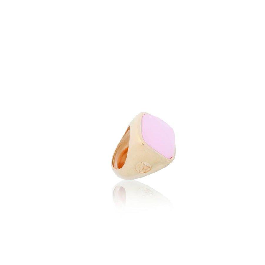 Essentail gem ring - Rose/ Rose quartz