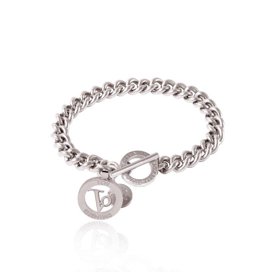 Ini mini solo chain bracelet - White Gold