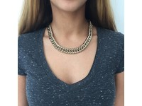 Small mermaid collier - Champagne Goud