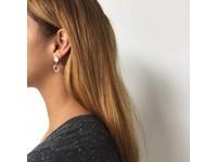 stud earring - Light Gold