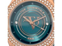 Atlantis sparkle rose/caribbean blue watch
