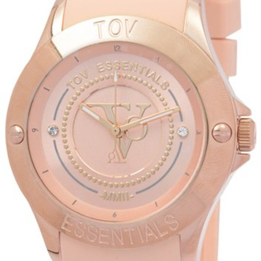 Tropical beach rose watch