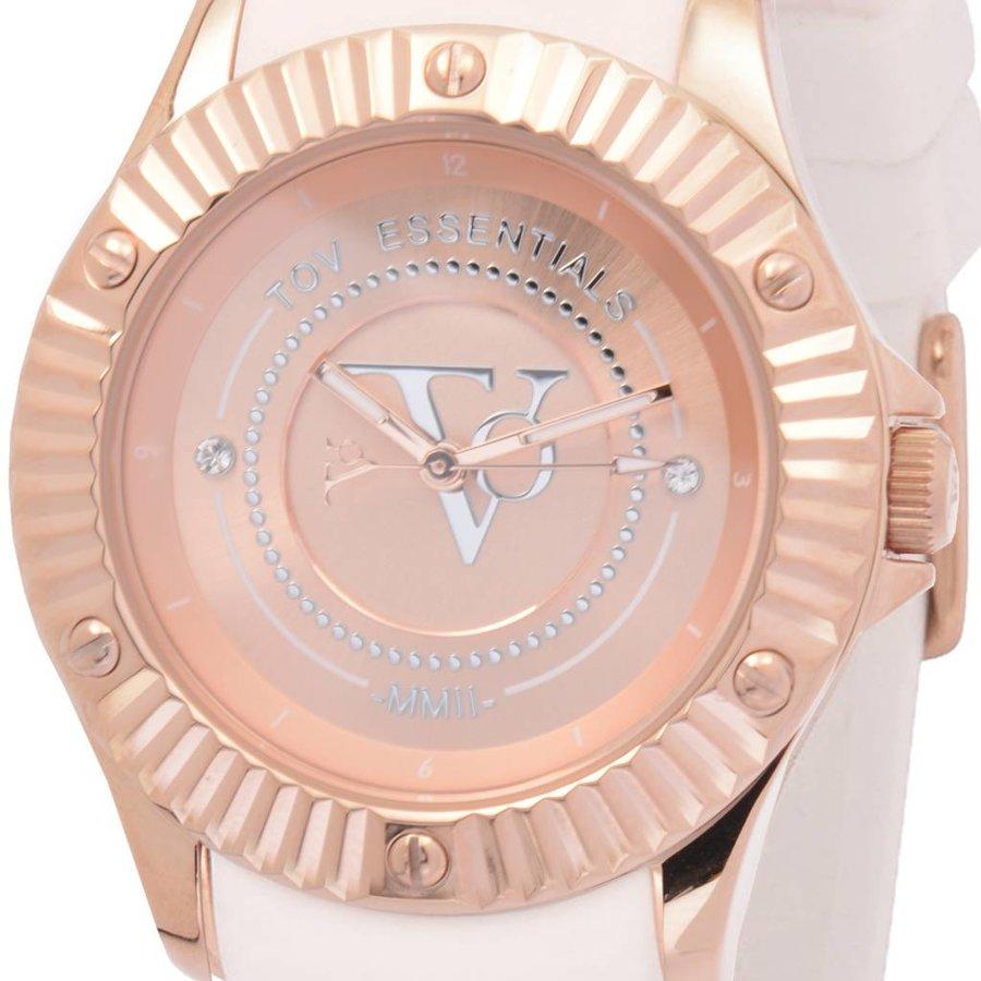 White Beach - Rose - Horloge