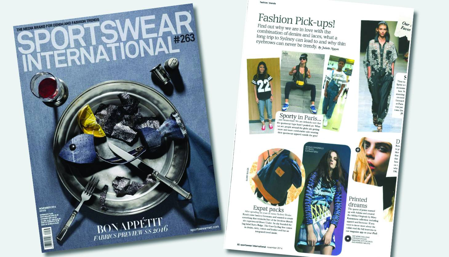 Sportswear Int. Mag Feature