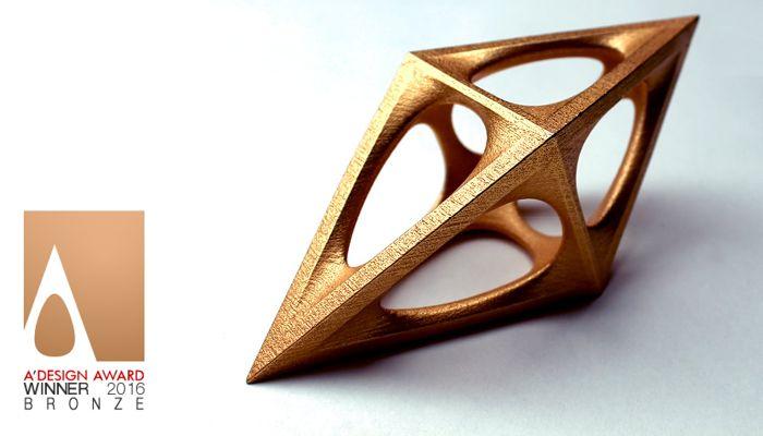 BRONZE TITEL beim A'Design Award 15/16