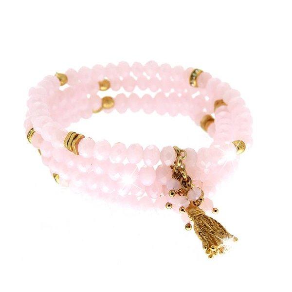 Bracelet Delia, rosé/gold