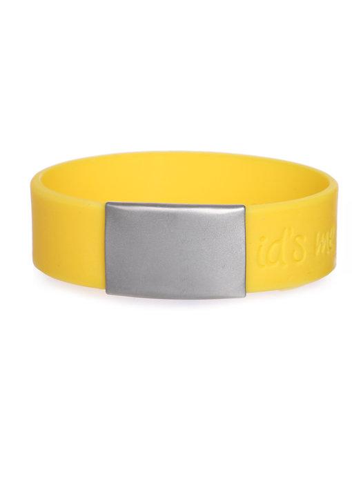 Id's me SportID Maxi Geel SOS armband