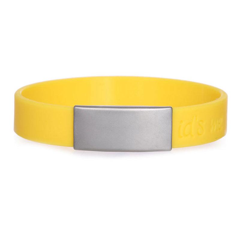Id's me SportID Mini Geel SOS armband