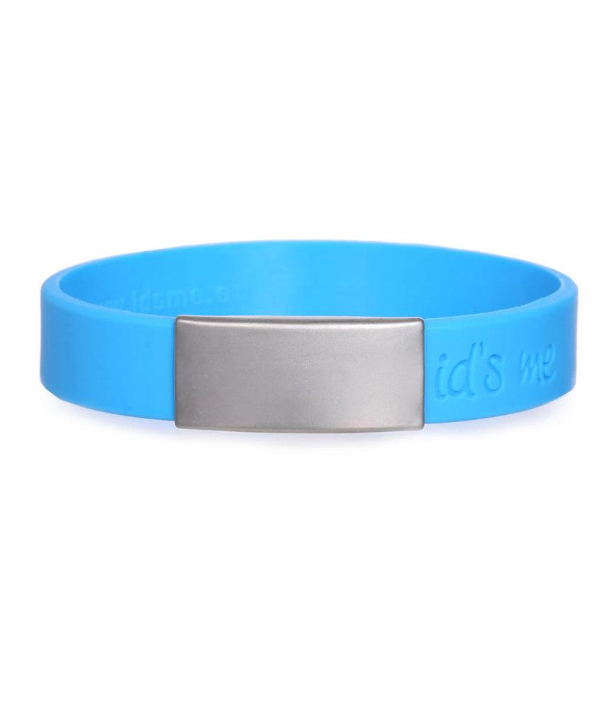 Id's me SportID Mini Blauw SOS armband