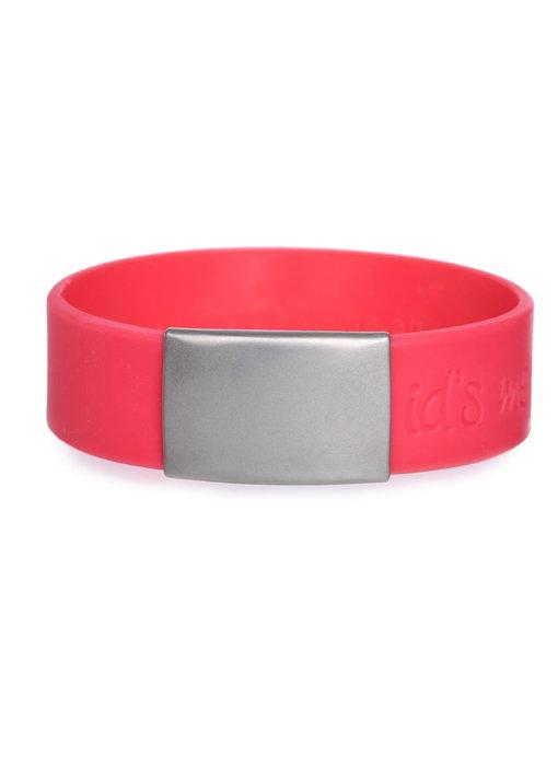 Id's me SportID Maxi Rood SOS armband