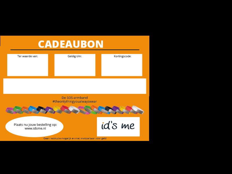 Id's me Cadeaubon Id's Me