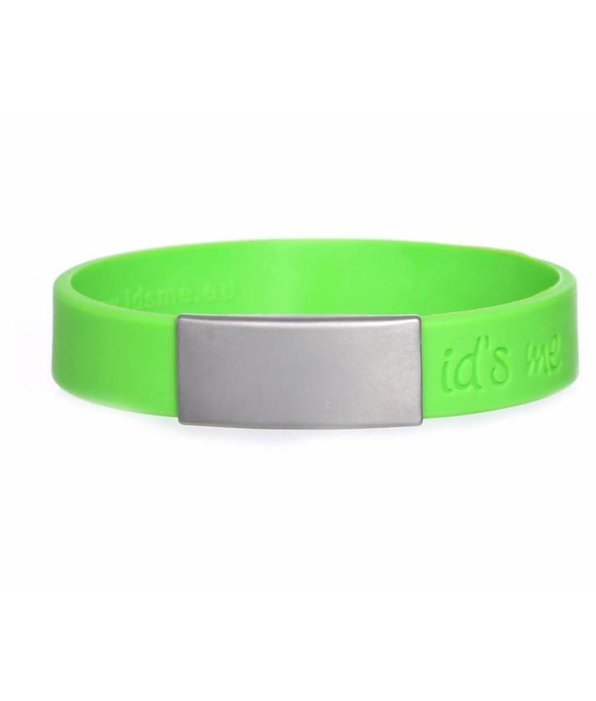 Id's me SportID Mini Groen SOS armband
