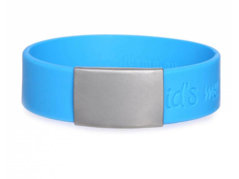 Id's me SportID Maxi Blauw SOS armband