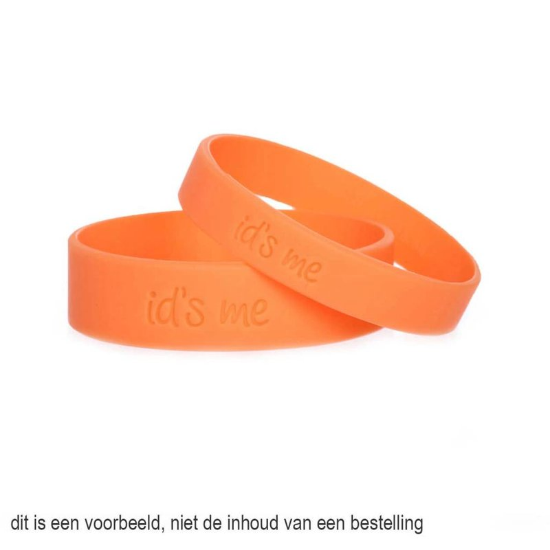 Id's me Extra Bandjes Maxi Oranje