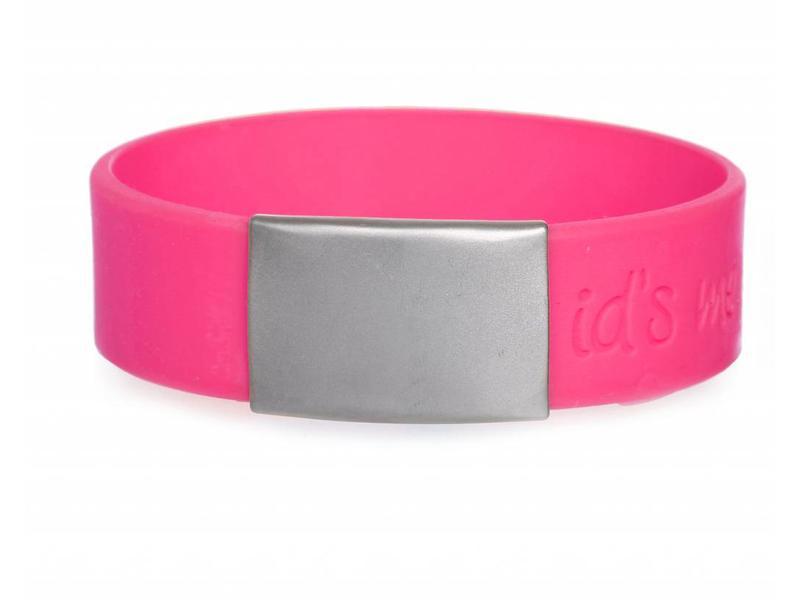 SportID Maxi Roze SOS Armband