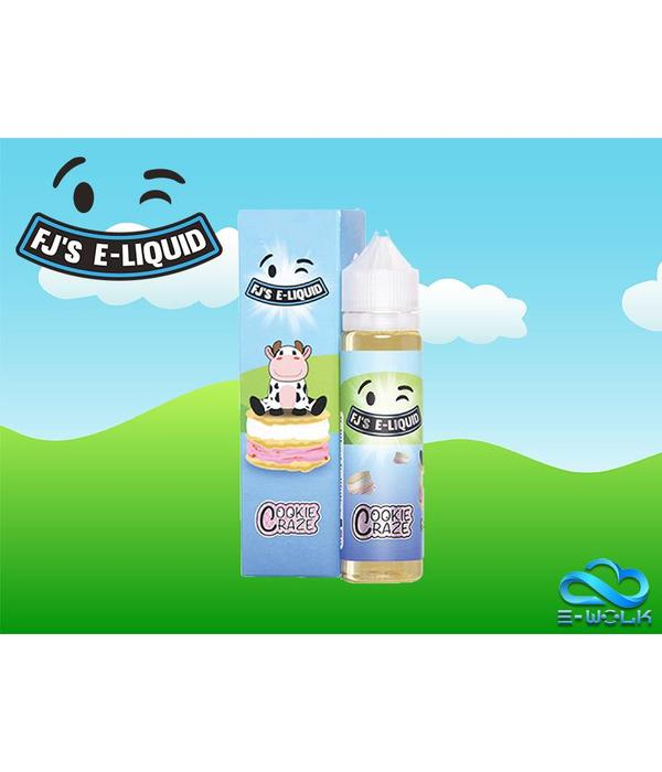 FJ's E-liquid Cookie Monsterz (50ml) Plus by FJ's E-liquid PDD
