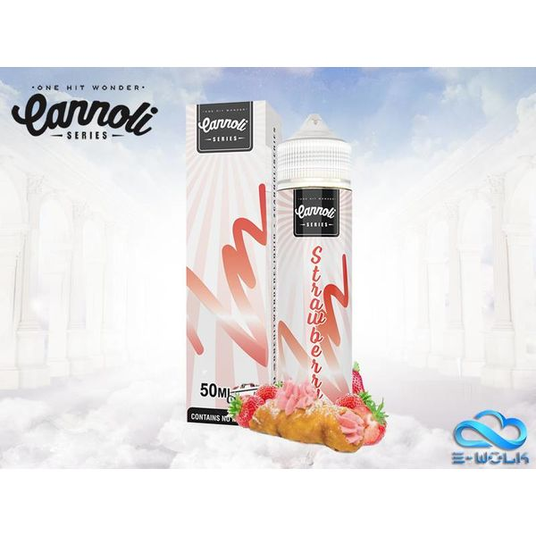 Strawberry Cannoli (50ml) Plus
