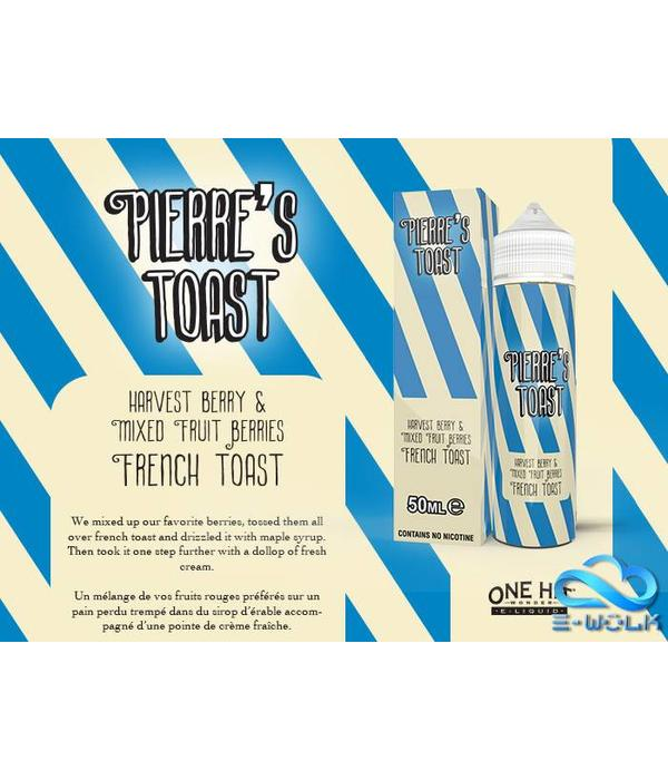 Pierre's Toast Mixed Berry (50ml) Plus by Pierre's Toast
