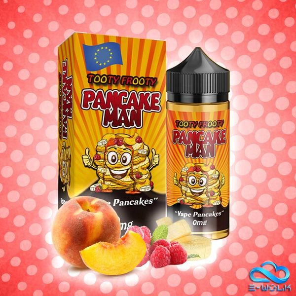 Pancake Man Tooty Frooty (100ml) Plus