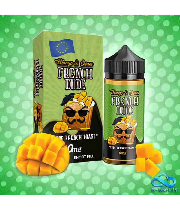 Vape Breakfast Classics Mango and Cream French Dude (100ml) Plus by Vape Breakfast Classics