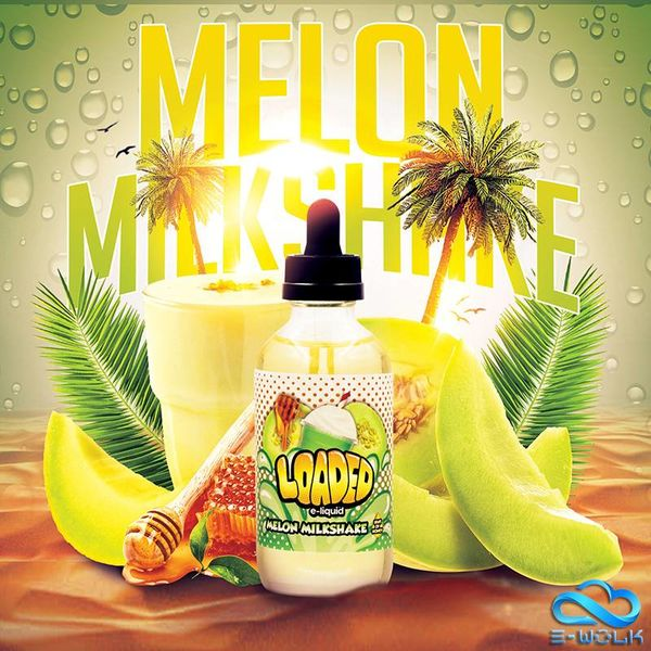 Melon Milkshake (100ml) Plus