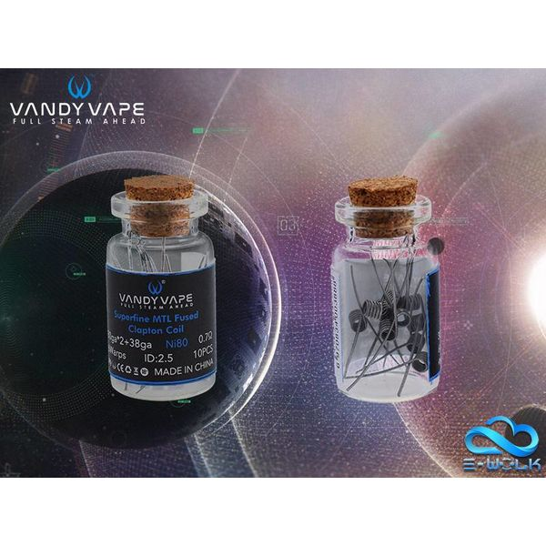 Vandy Vape Superfine MTL Fused Clapton Coil