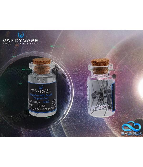Vandy Vape Vandy Vape Superfine MTL Fused Clapton Coil