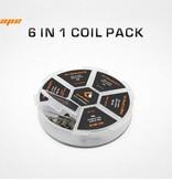 Geekvape Geek Vape 6-in-1 Prebuilt Coils Pack