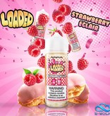 Loaded Raspberry Eclair (100ml) Plus by Loaded