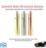 Kennedy Ruby 270 Limited Edition • 25mm Mech Mod/RDA Combo