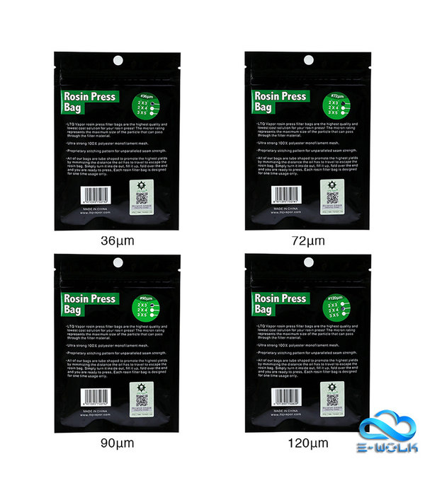 LTQ Vapor Rosin Press Bag (5pcs)