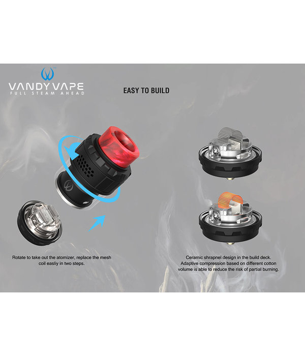Vandy Vape Vandy Vape Kylin M RTA 24mm & 4.5ml