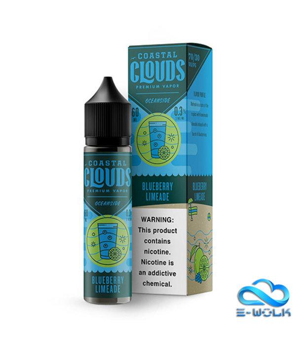 Coastal Clouds Blueberry Limeade (50ml) Plus by Coastal Clouds