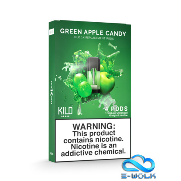 Green Apple Candy Pods