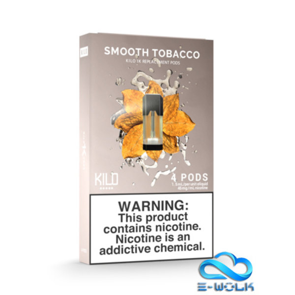 Smooth Tobacco Pods
