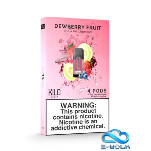 Dewberry Fruit Pods