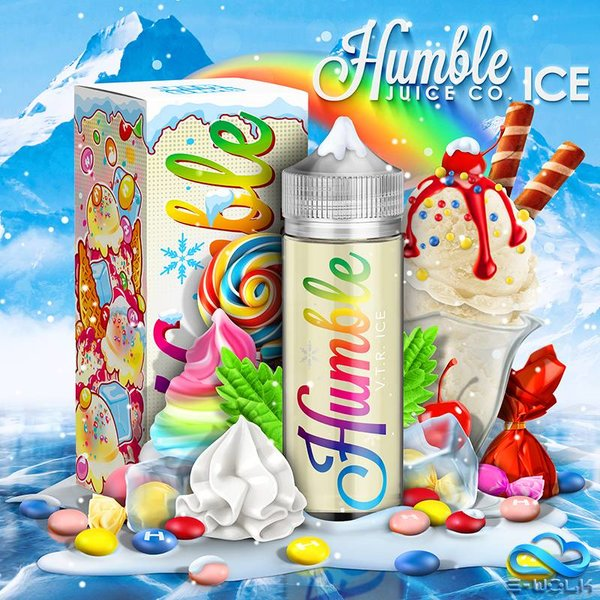 Vape The Rainbow Ice (100ml) Plus PDD