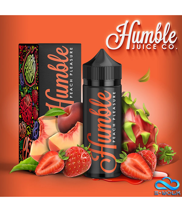 Humble Juice Co. Peach Pleasure (100ml) Plus by Humble Juice Co.