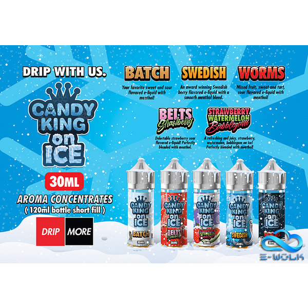 Candy King on Ice (30ml/120ml) Longfill PDD