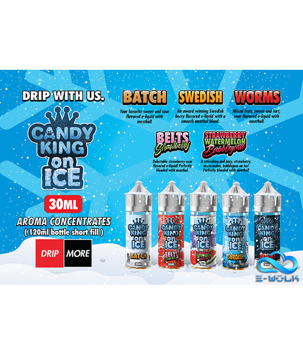 Drip More Candy King on Ice (30ml/120ml) Longfill by Drip More